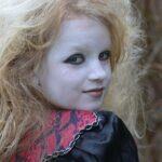 Eine Hexe an Karneval